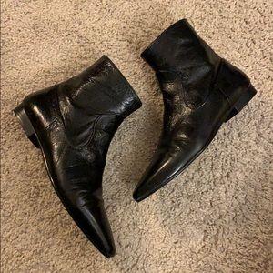 Zara Flat ankle boots